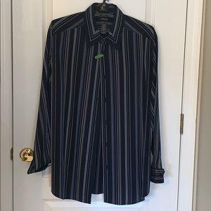 Fabulous striped Claiborne dress shirt.